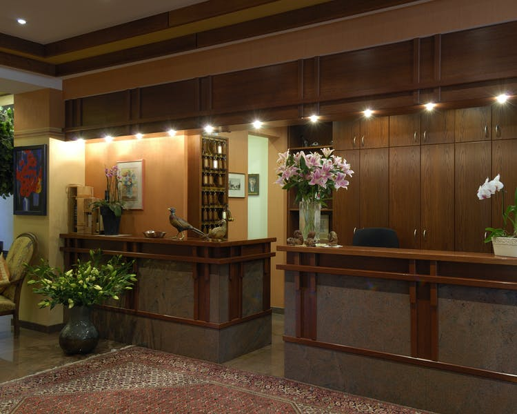 Reception desk Hotel-Restaurant Brimer Mullerthal