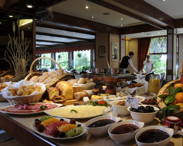 The breakfast buffet Hotel-Restaurant Brimer Mullerthal