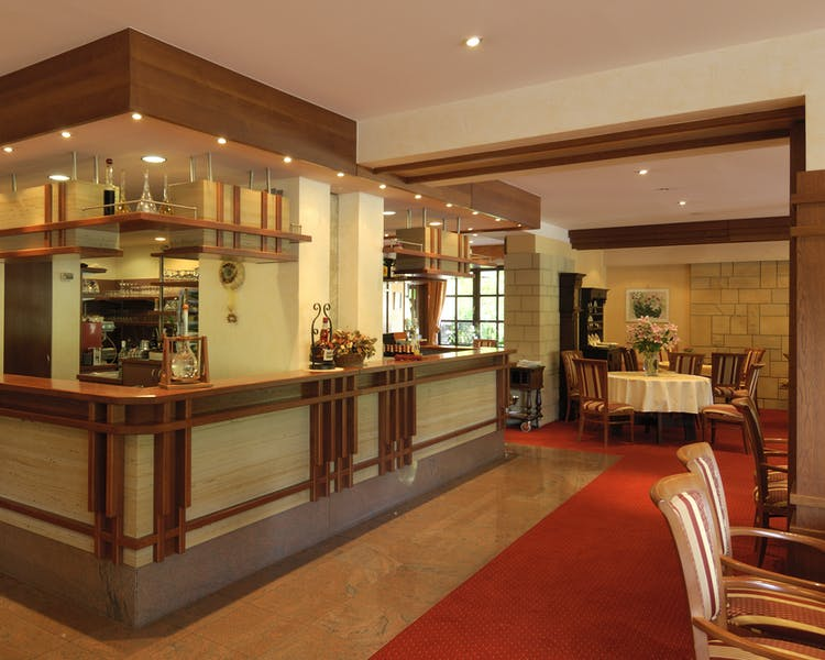 Bar and Lounge area Hotel-Restaurant Brimer Mullerthal