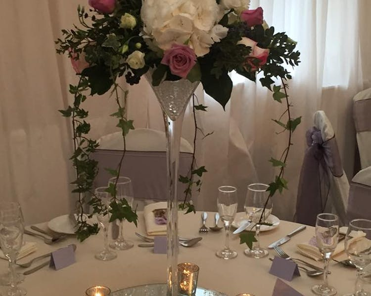 Function room flowers