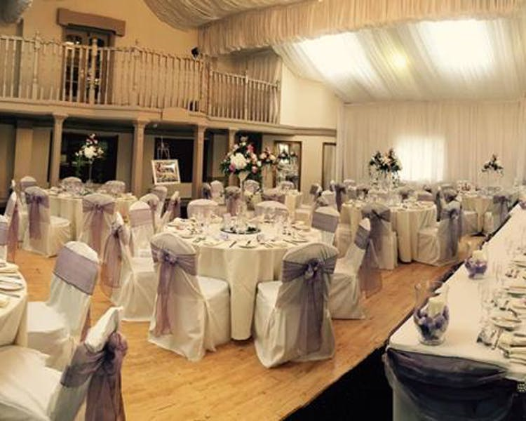 Function Room for a Wedding