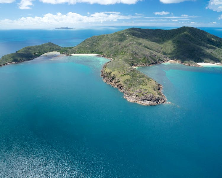 Islands off Mackay