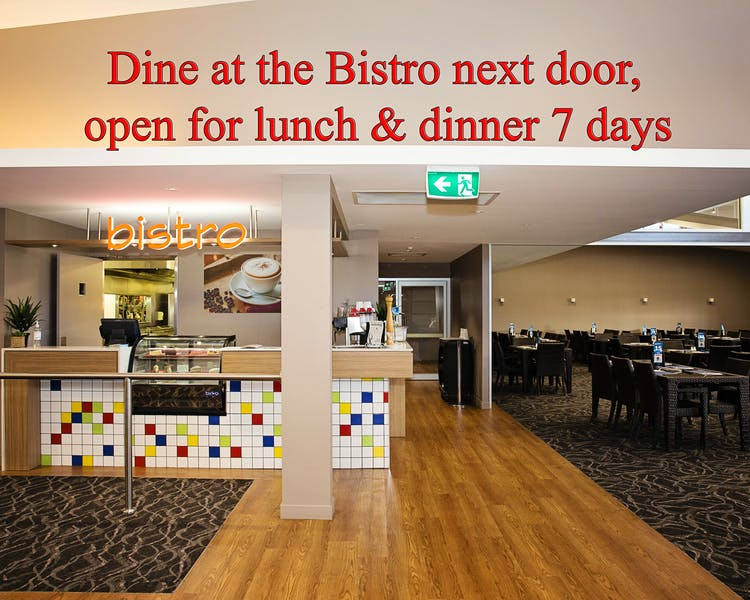 Bistro right next door White Lace Motor Inn Mackay