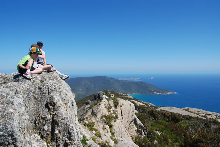 Wilsons Promontory heights