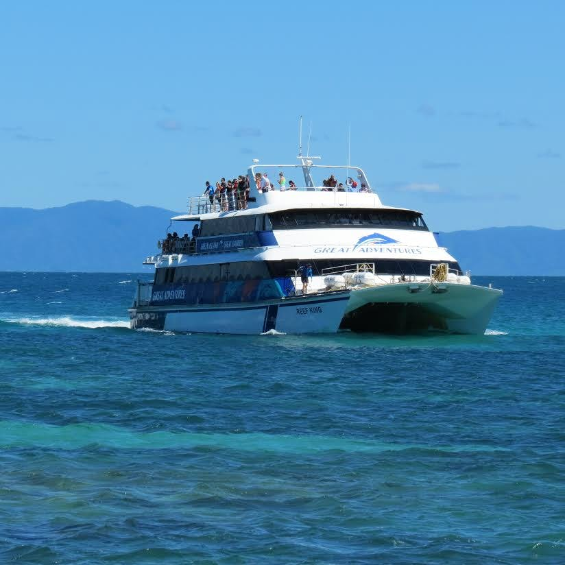 Great Adventures reef tours.