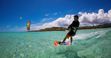 Kite Boading Surfing Muri Beach