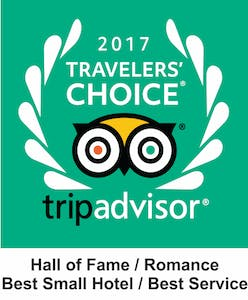 Tripadvisor logo traveler's choice 2016 Hotel Casa do Amarelindo