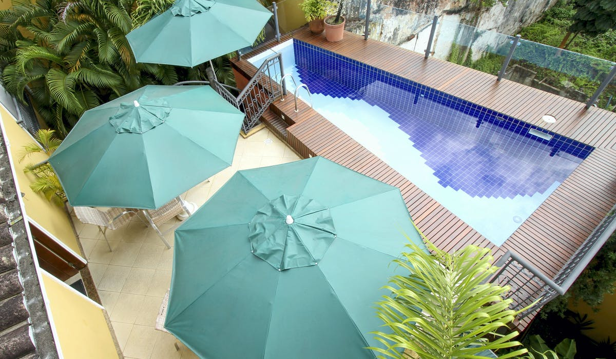 Hotel Casa Amarelindo Swimming-pool View Umbrelas