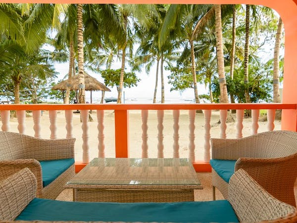 A beachfront view from 2 Bed Room Family Room