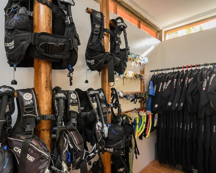 High quality dive equipment's