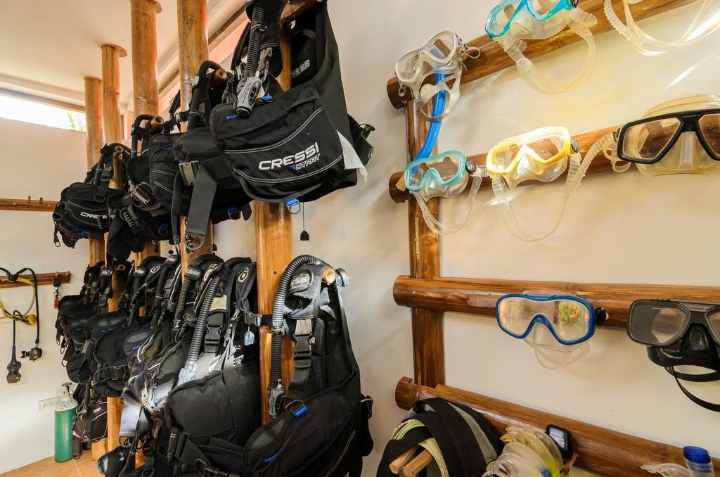 High quality water and dive equipment's