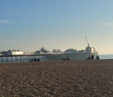 Brighton Beach opposite the New Madeira Hotel