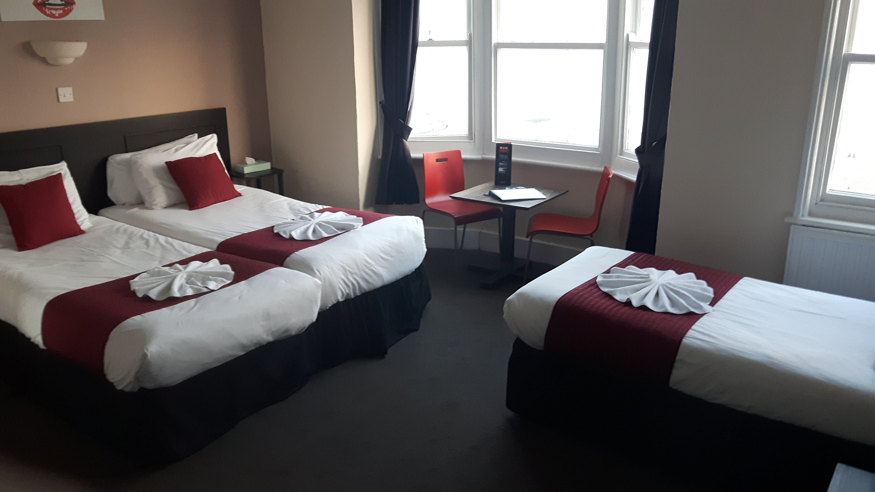 New Madeira Hotel Brighton - Quadruple or Triple Room