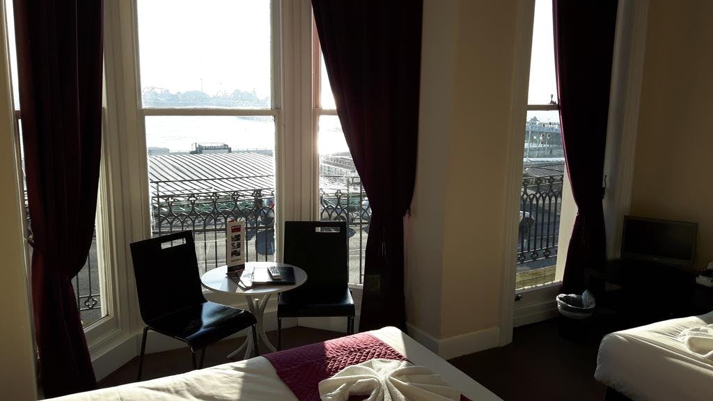Brighton Hotel with great sea views