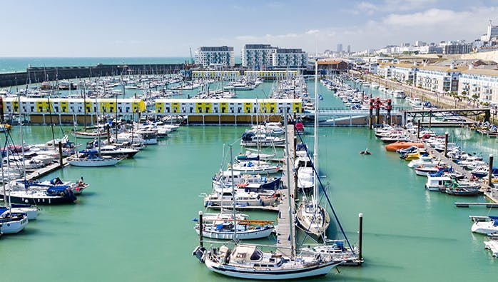 Brighton Marina - 2 miles away from the New Madeira Hotel