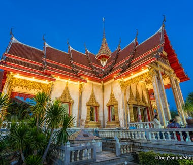 Wat Chalong Biggest Tempel in Phuket