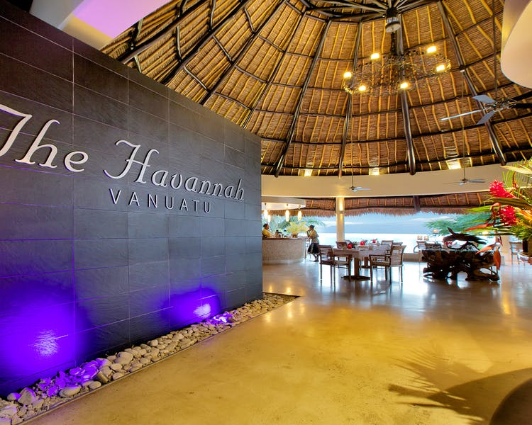 The Havannah, Vanuatu. Award winning Luxury resort  for couples,  romance, weddings and Honeymoon.