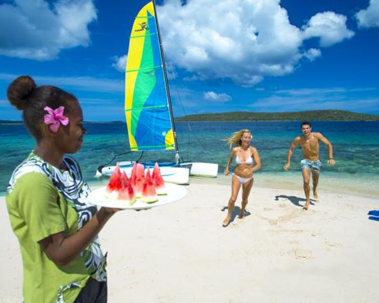 The Havannah, Vanuatu. Award winning Luxury resort  for couples,  romance, weddings and Honeymoon. Fun in sun