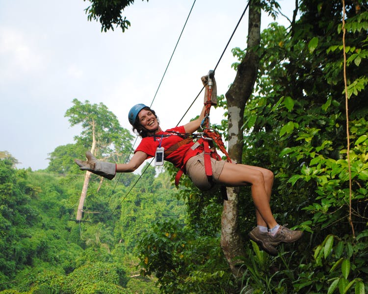Havannah, Vanuatu, Attractions, Jungle Zip-line Tour