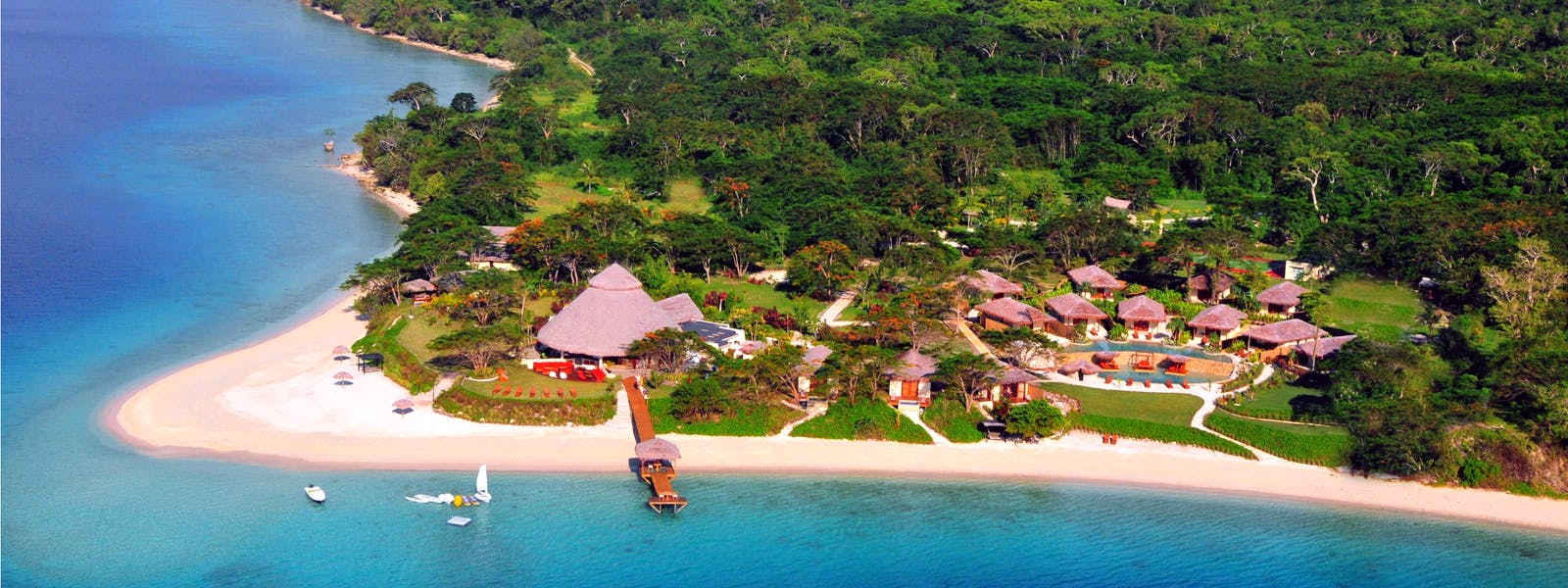 The Havannah, Vanuatu. Award winning Luxury resort  for couples,  romance, weddings and Honeymoon.  natural surroundings