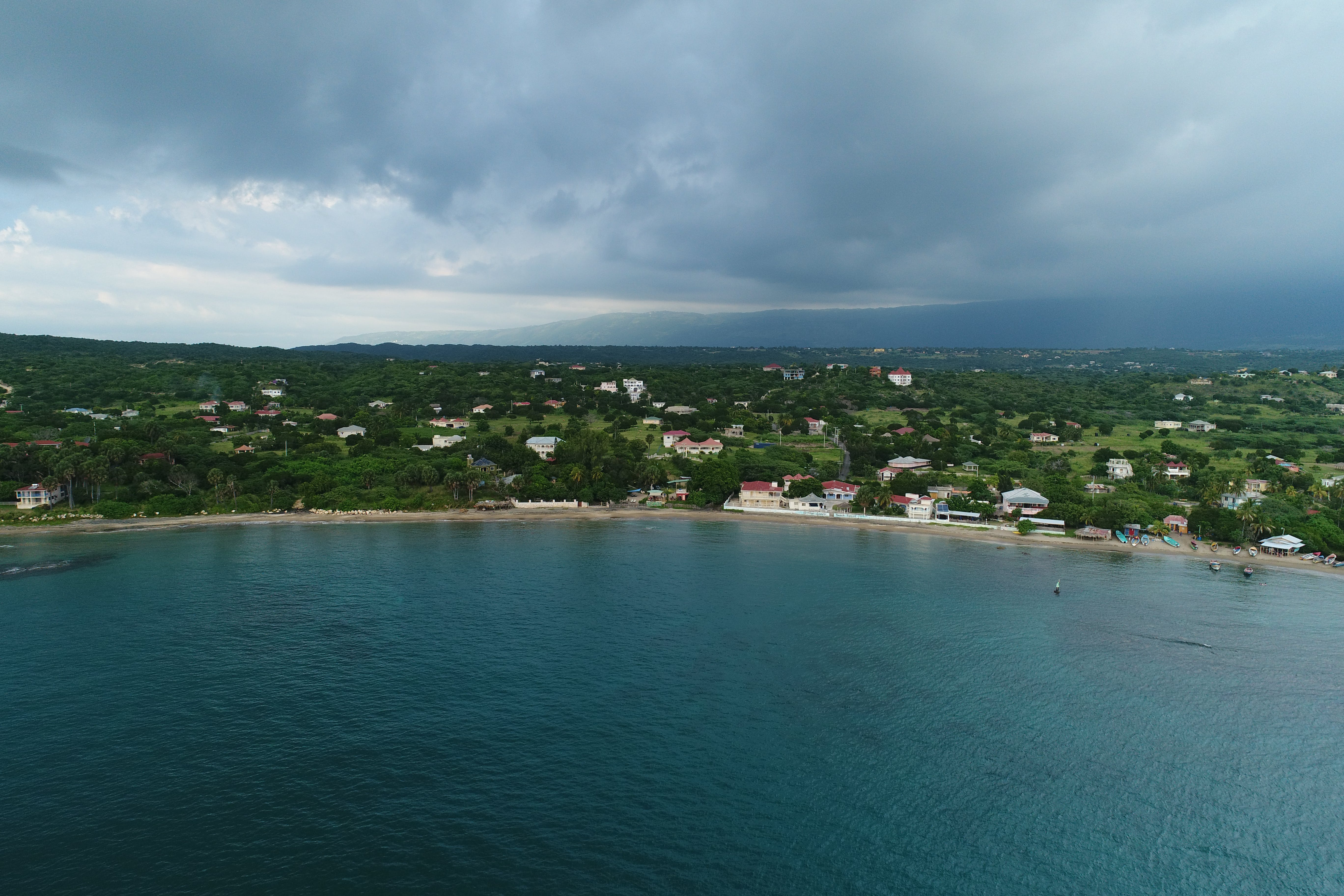 Katamah Beachfront Guesthouse, Treasure Beach, Saint Elizabeth. Jamaica West Indies Caribbean