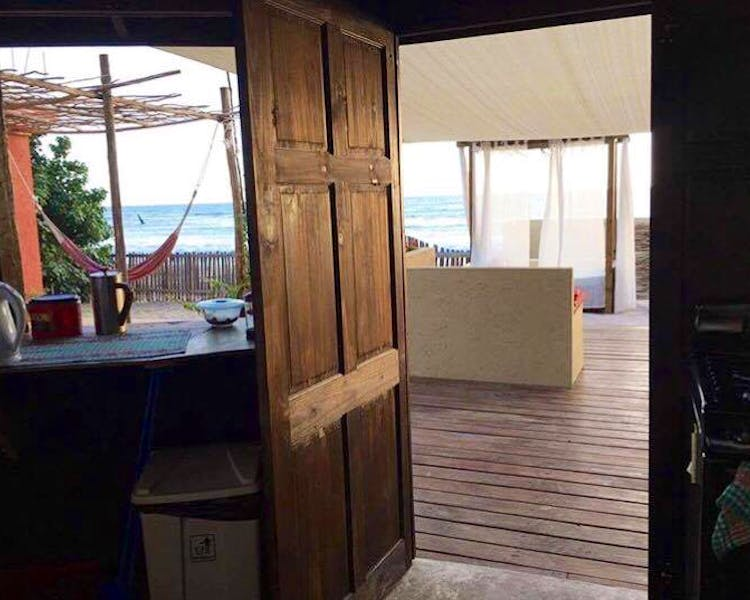 Shared Kitchen Home away from home Katamah Jamaica Beachfront Guesthouse Ocean View Treasure Beach