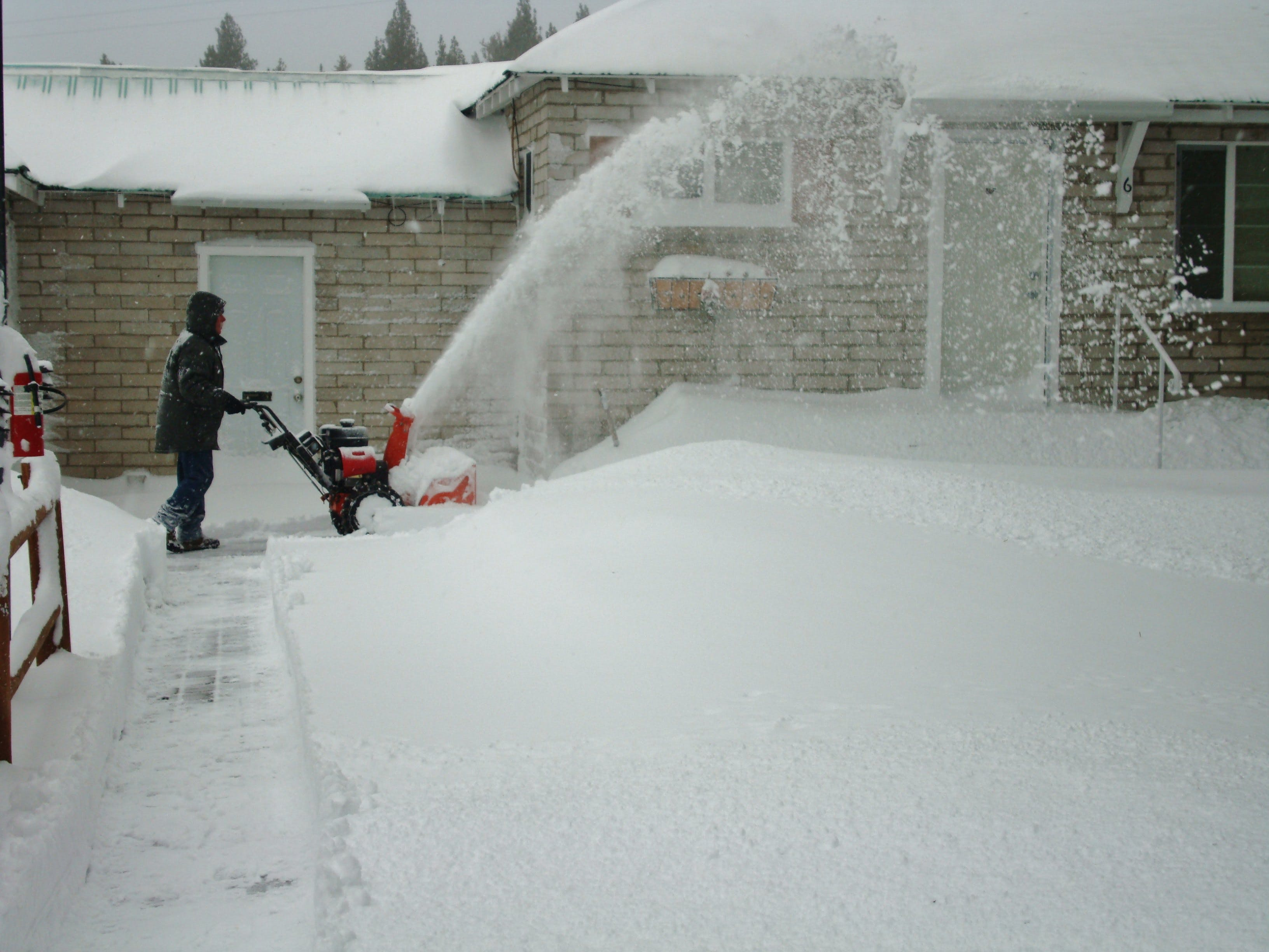 Bob with the snowblower
