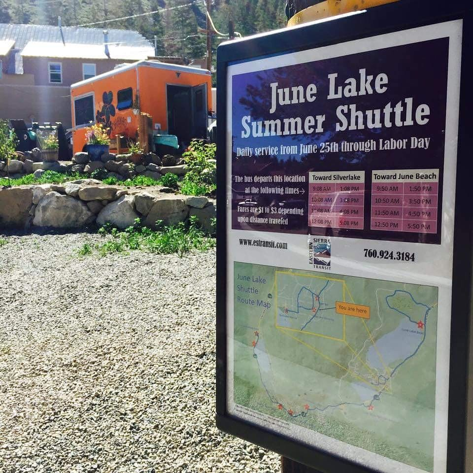 Summer Shuttle through June Lake