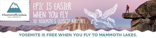 Mammoth Airport - Yosemite Deal