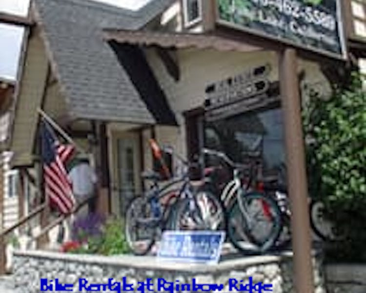 Bicycle Rentals at Rainbow Ridge Reservations, June Lake