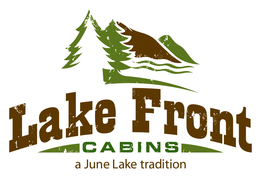 Lake Front Cabins logo