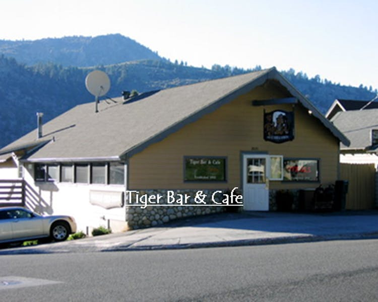 Tiger Bar and Cafe, June Lake