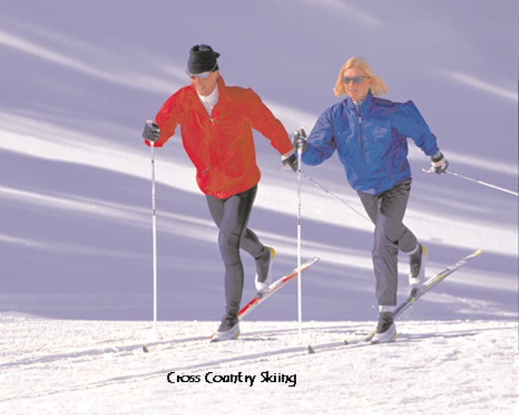 Cross Country Skiing near June Lake.
