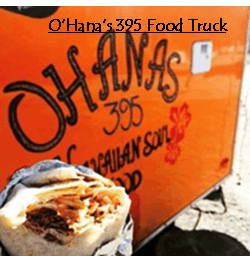 O'Hanas 395 Food truck, June Lake