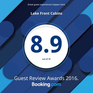 2016 Guest Review Award from Booking.com