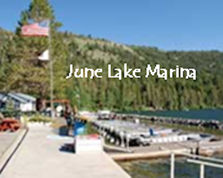 June Lake Maina, next door to Lake Front Cabins
