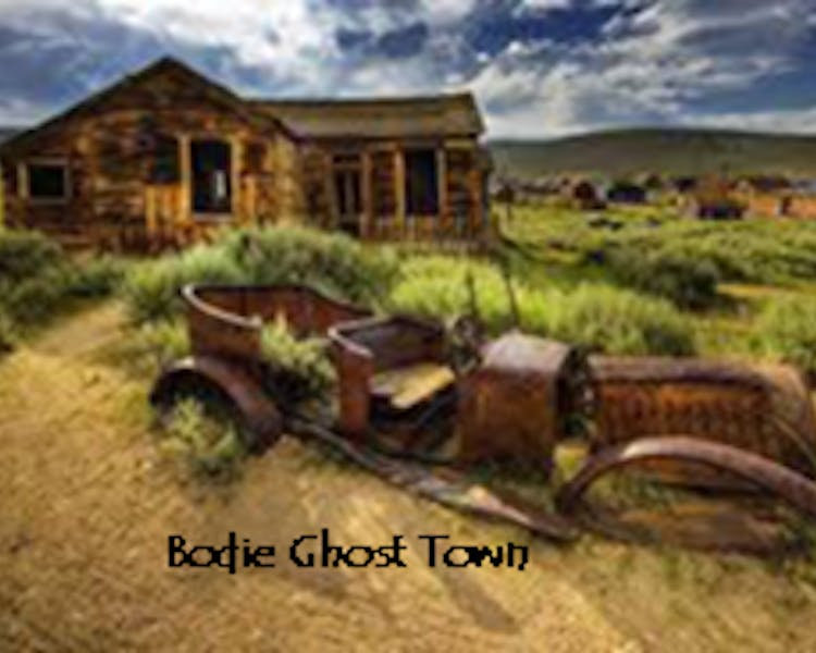Bodie Ghost Town, about 1 hr from Lake Front Cabins.