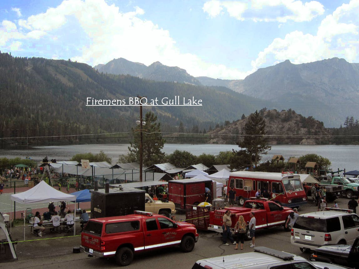 Annual June Lake Firemens BBQ