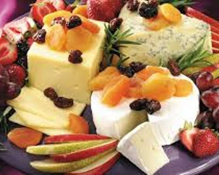 BC Cheese and Fruit Plate 2016