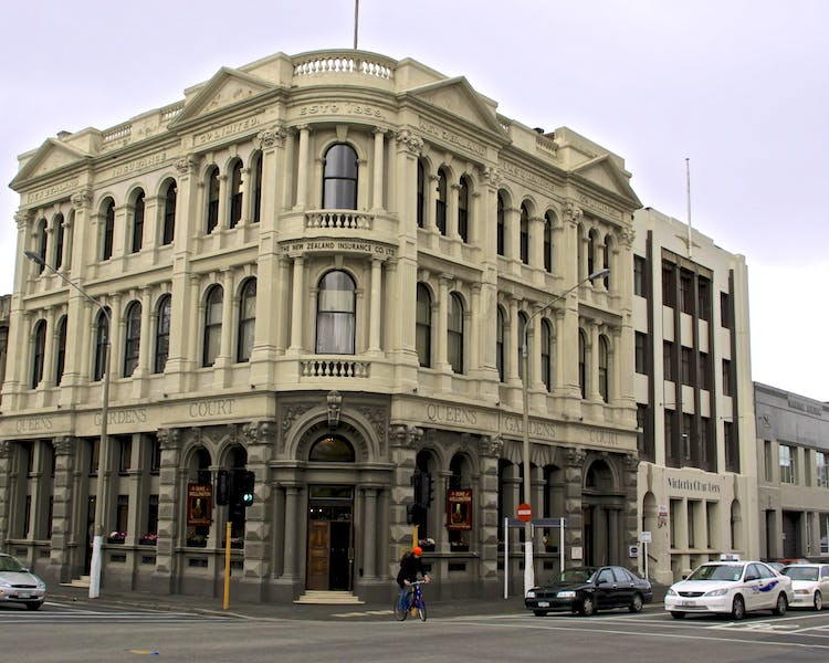 NZ Insurance Co Ltd in Queens Gardens Court - Home of the Duke of Wellington Pub