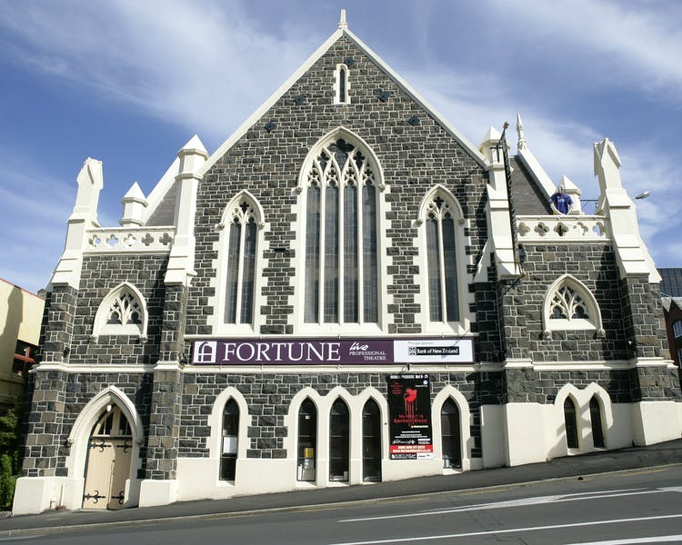 The Fortune Theatre in Stuart St