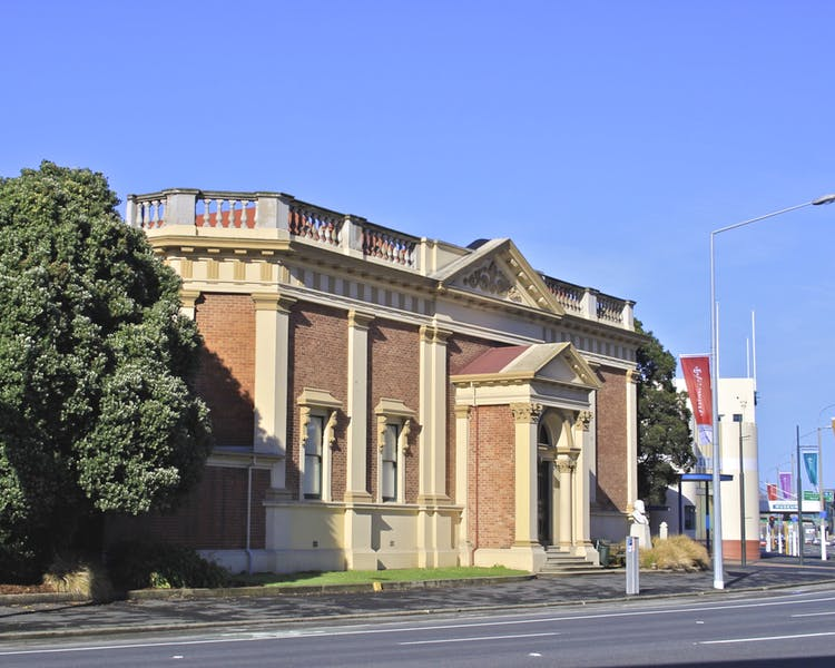 The original Otago Early Settlers Museum exterior