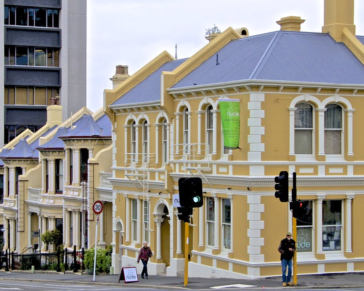 Stuart St Terrace Houses
