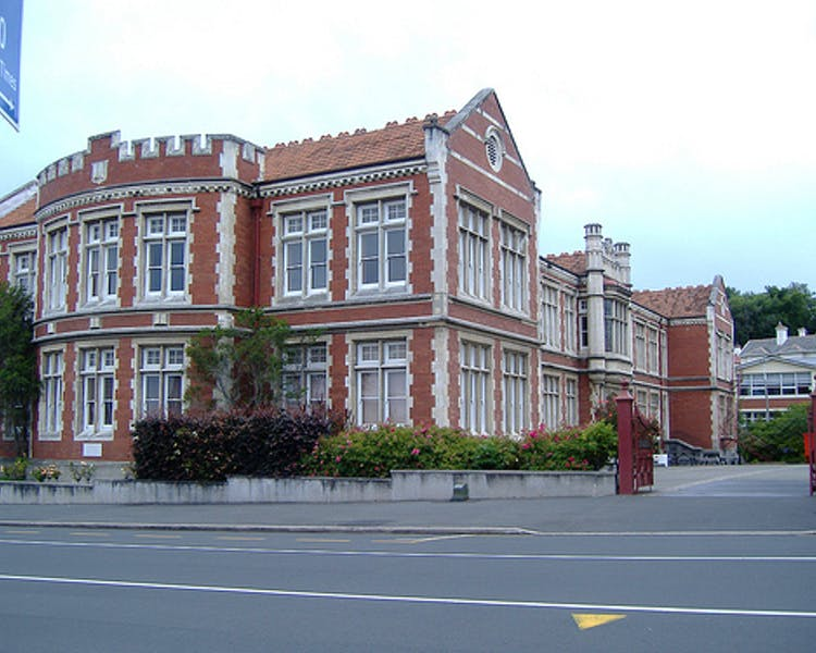 Otago Girls High School in Tennyson Street