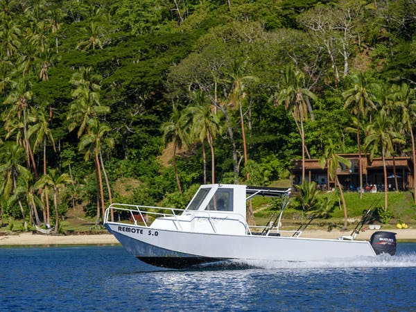 Remote 5.0 transfers to The Remote Resort from Taveuni or Natuvu (for flights from Savusavu or Labasa)