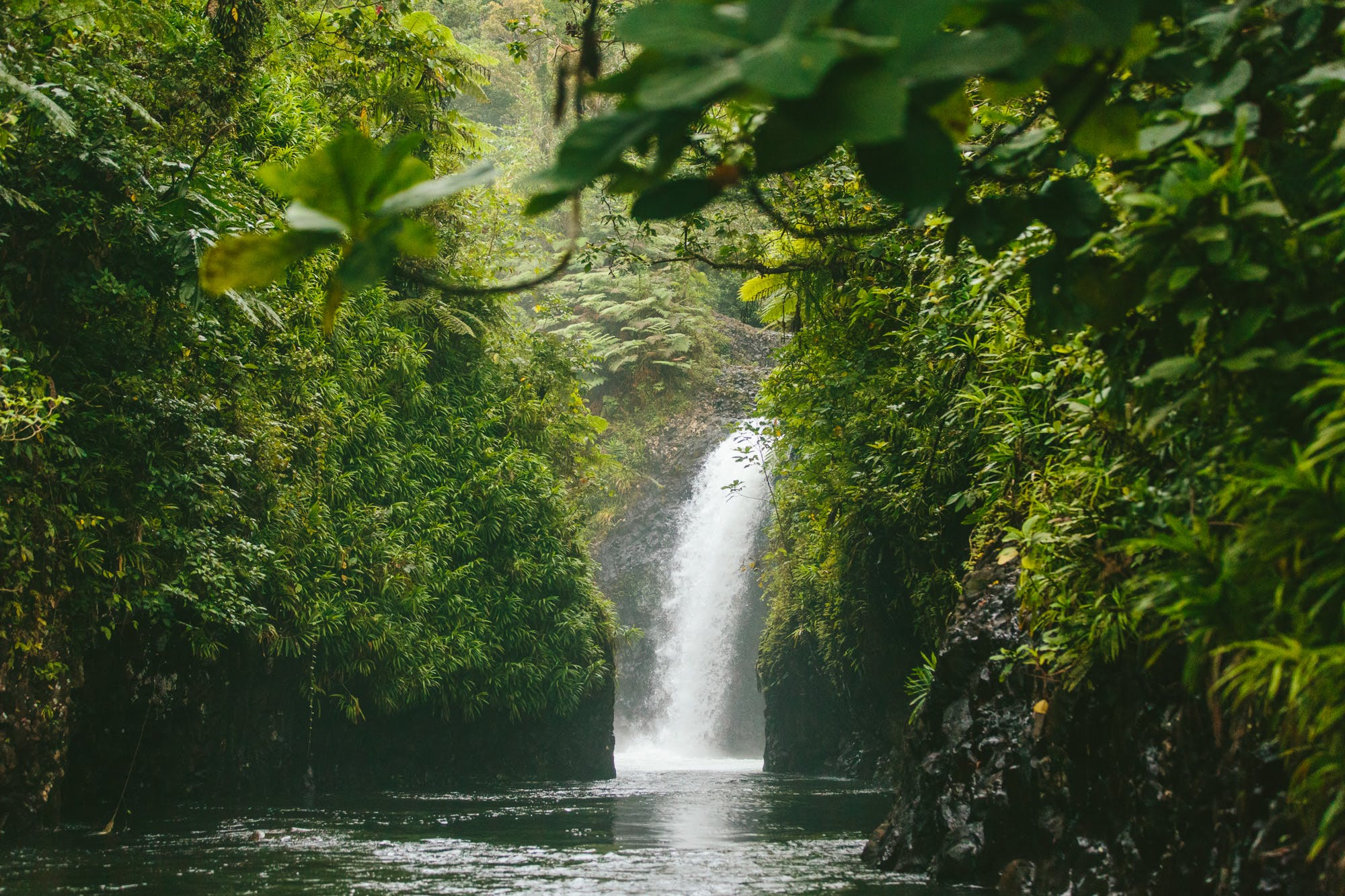 Waterfalls in Taveuni - The Remote Resort Fiji Islands