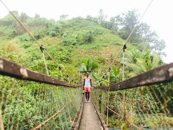 Lavena Coastal Walk Bridge Taveuni - Remote Resort Fiji Islands