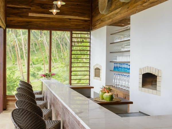 The Bar at The Remote Resort Fiji Islands