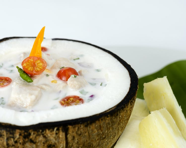 Traditional Fijian Kokoda (ceviche) at The Remote Resort Fiji Islands