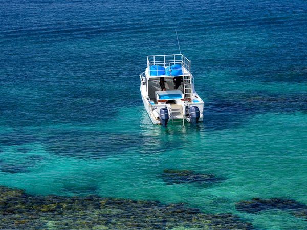 Remote 2.0 on the Rainbow Reef snorkel from from The Remote Resort Fiji Islands